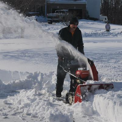 Residential Driveway Snow And Ice Removal Plus Salt Spreading